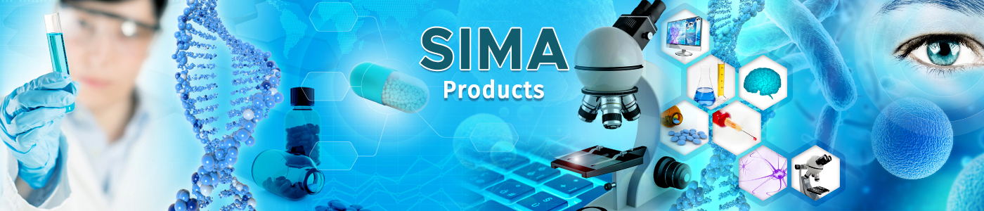 SIMA PRODUCTS Cover Background