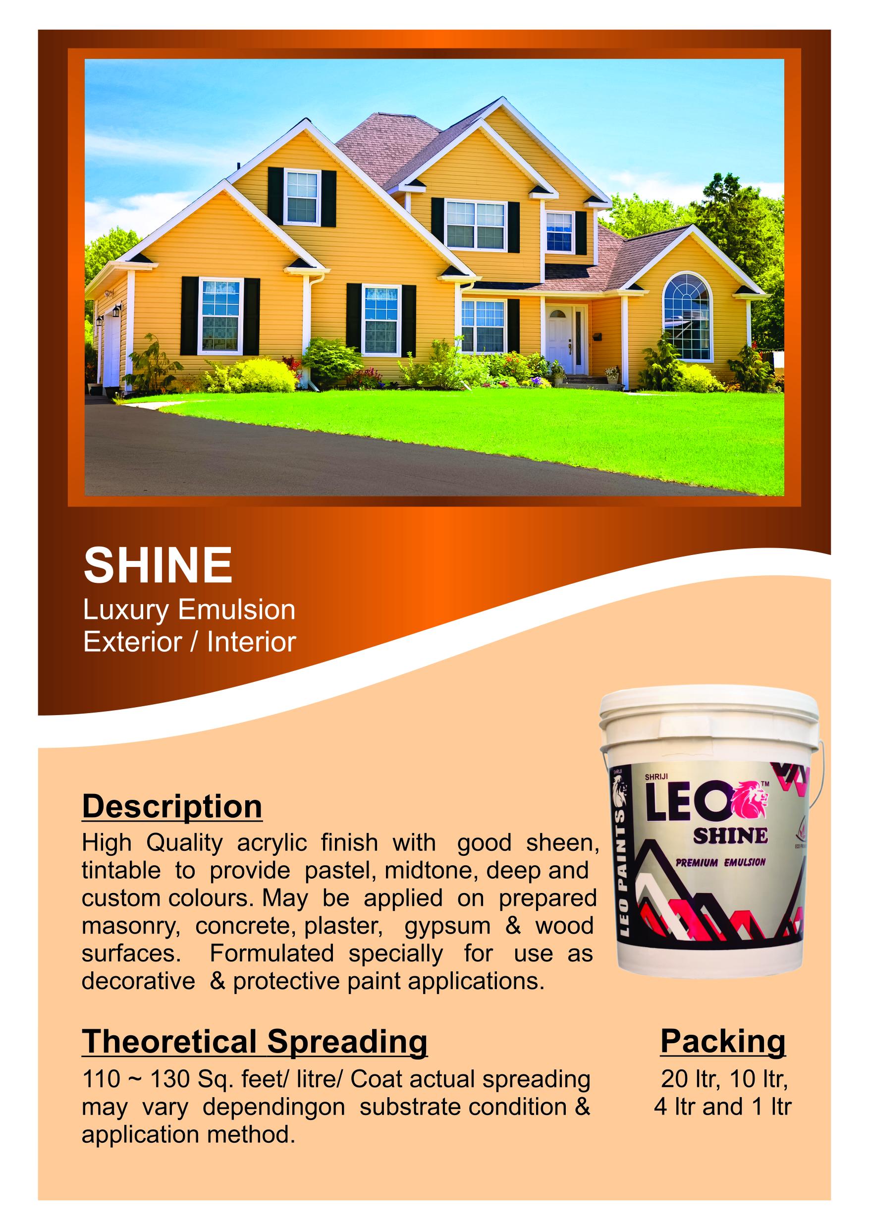 Leoflex paints and plastics pvt ltd Cover Background
